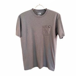The North Face Classic Fit Gray Pocket Tee